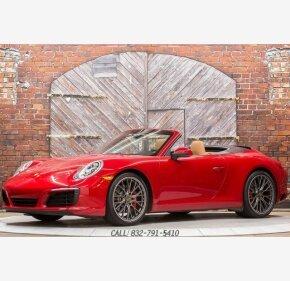 2017 Porsche 911 Cabriolet for sale 101110831