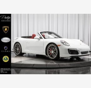 2017 Porsche 911 Cabriolet for sale 101142142