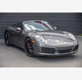 2017 Porsche 911 Cabriolet for sale 101179863