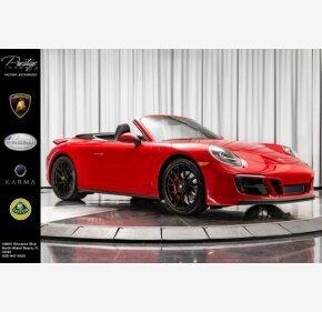 2017 Porsche 911 Cabriolet for sale 101195210
