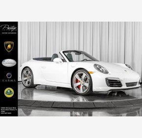 2017 Porsche 911 Cabriolet for sale 101219822