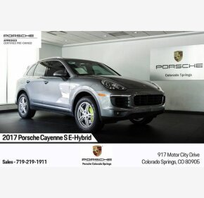 2017 Porsche Cayenne S E-Hybrid for sale 101352775