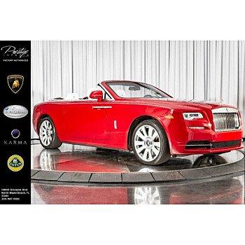 2017 Rolls-Royce Dawn for sale 101219819