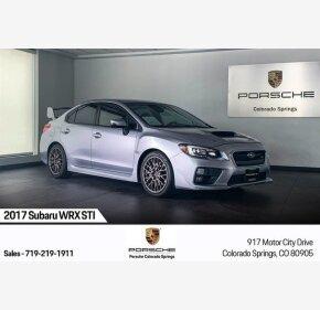 2017 Subaru WRX STI for sale 101257254