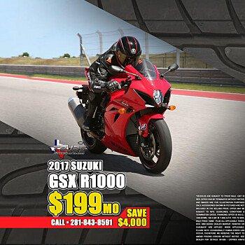 2017 Suzuki GSX-R1000 for sale 200589979