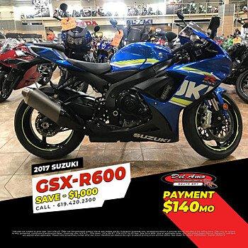 2017 Suzuki GSX-R600 for sale 200714088
