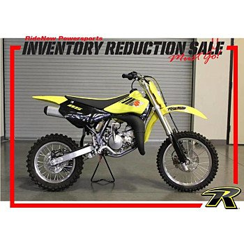 2017 Suzuki RM85 for sale 200657402