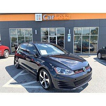 2017 Volkswagen GTI 4-Door for sale 101179456