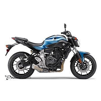 2017 Yamaha FZ-07 for sale 200395433