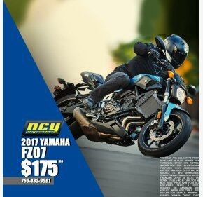 2017 Yamaha FZ-07 for sale 200707341