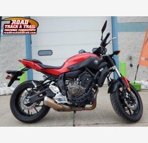 2017 Yamaha FZ-07 for sale 200710693