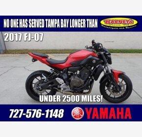 2017 Yamaha FZ-07 for sale 200718162
