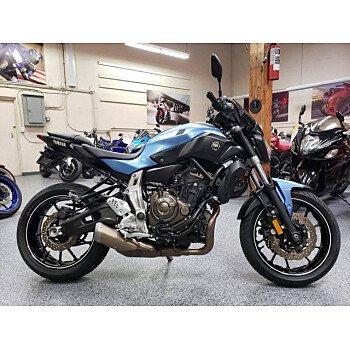 2017 Yamaha FZ-07 for sale 200884560