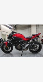 2017 Yamaha FZ-07 for sale 201001400