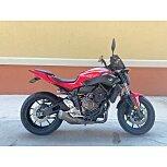 2017 Yamaha FZ-07 for sale 201140132