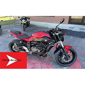 2017 Yamaha FZ-07 for sale 201183692