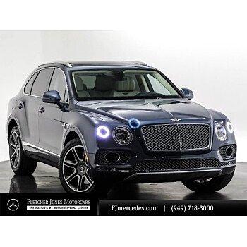 2018 Bentley Bentayga for sale 101269026