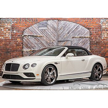 2018 Bentley Continental for sale 101406251