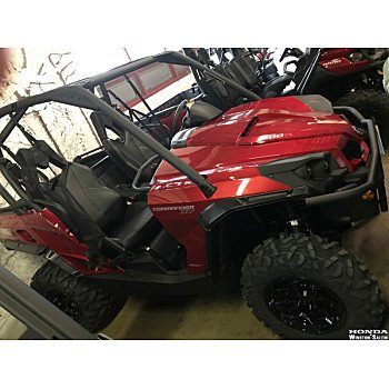 2018 Can-Am Commander 1000R for sale 200501730