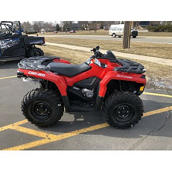 2018 Can-Am Outlander 650 for sale 200499165