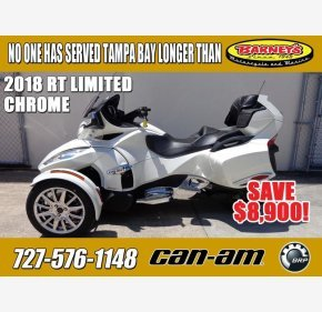 2018 Can-Am Spyder RT for sale 200600404