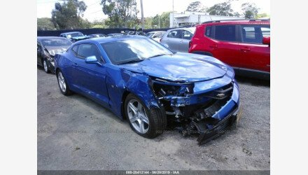 2018 Chevrolet Camaro LT Coupe for sale 101221602