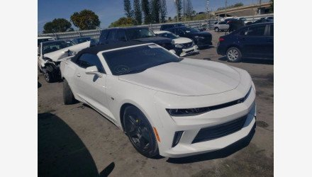 2018 Chevrolet Camaro LT Convertible w/ 1LT for sale 101491801