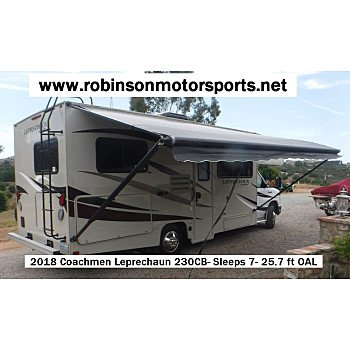 2018 Coachmen Leprechaun 230CB for sale 300197564