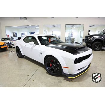 2018 Dodge Challenger SRT Demon for sale 101092365