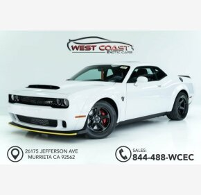 2018 Dodge Challenger SRT Demon for sale 101094015