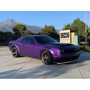 2018 Dodge Challenger SRT Demon for sale 101204109