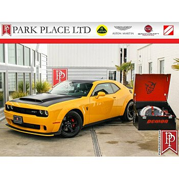 2018 Dodge Challenger SRT Demon for sale 101306796