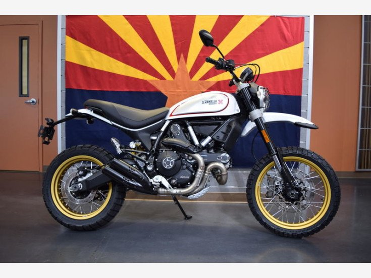 2018 Ducati Scrambler For Sale Near Chandler Arizona 85286