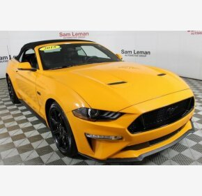 2018 Ford Mustang GT Convertible for sale 101099855
