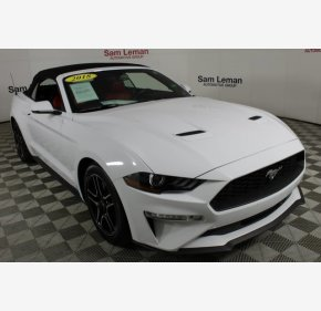 2018 Ford Mustang for sale 101100585
