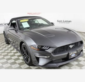 2018 Ford Mustang for sale 101100589