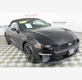 2018 Ford Mustang for sale 101117085