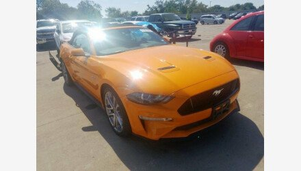 2018 Ford Mustang GT Convertible for sale 101240941