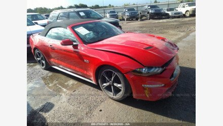 2018 Ford Mustang GT Convertible for sale 101341645