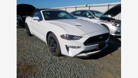 2018 Ford Mustang for sale 101360631