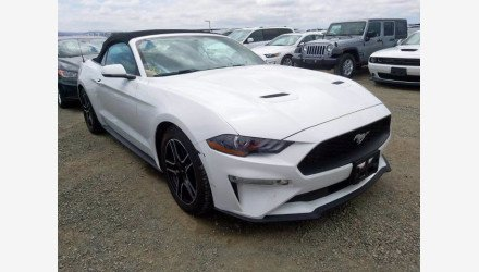2018 Ford Mustang for sale 101360656