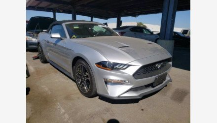 2018 Ford Mustang for sale 101410497