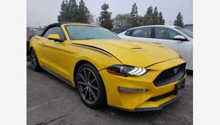 2018 Ford Mustang for sale 101411261