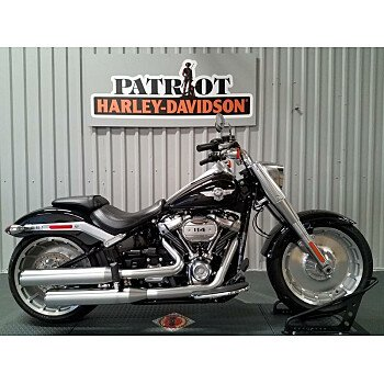 2018 Harley-Davidson Softail Fat Boy 114 for sale 200780512