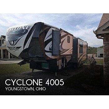 2018 Heartland Cyclone CY 4005 for sale 300221642