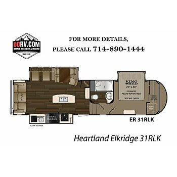 2018 Heartland Elkridge for sale 300148071