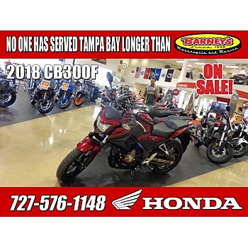2018 Honda CB300F for sale 200760773