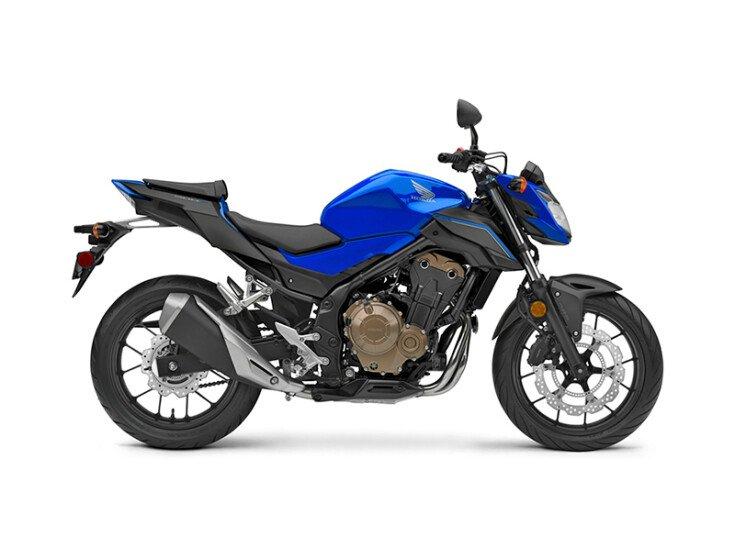 2018 Honda CB500F Base specifications