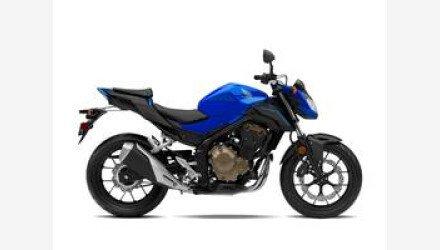 2018 Honda CB500F for sale 200702532