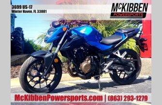 2018 Honda CB500F for sale 200836117